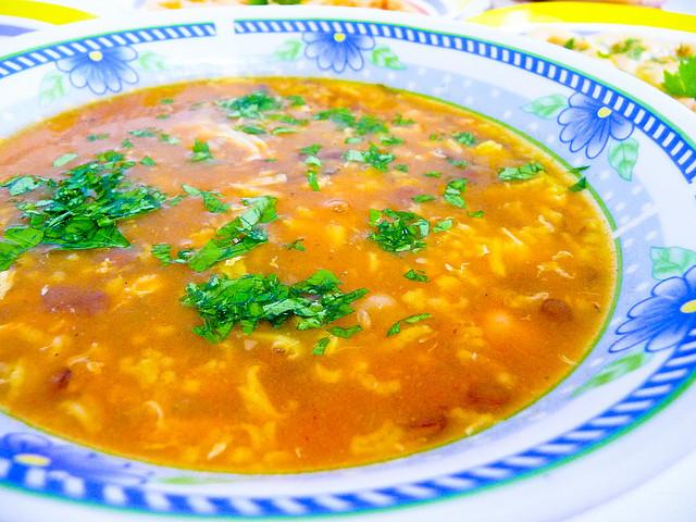 Harira (sopa) tipica de Marruecos